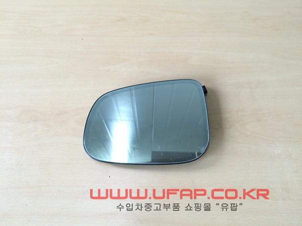 수입차 중고부품 - 재규어 XJ 4세대) 사이드 미러 유리 운전석. 호환차종: 1 02C2C37097
