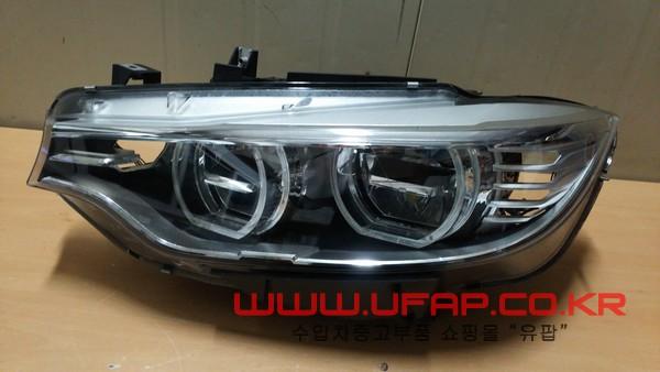 수입차 중고부품 - BMW 3시리즈 F80 M3 헤드라이트 운전석. 호환차종: 7 63117377841
