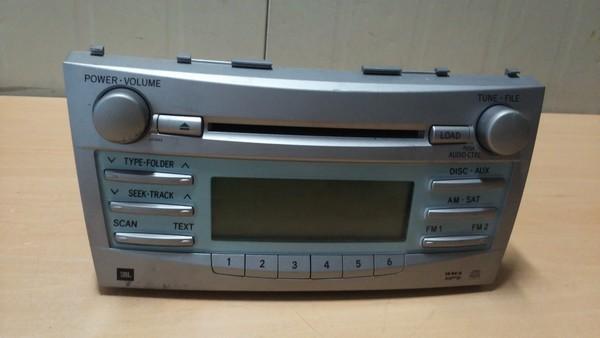 수입차 중고부품 - 도요타 캠리 6세대) 사운드 시스템 오디오. 호환차종: 1 8612006191