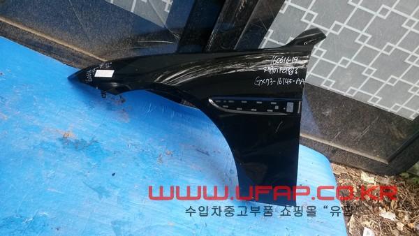 수입차 중고부품 - 재규어 XE 앞 휀다 운전석. 호환차종: 1 GX7316145AA