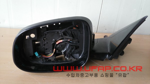 수입차 중고부품 - 재규어 XF 1세대) 사이드 미러 운전석. 호환차종: 1