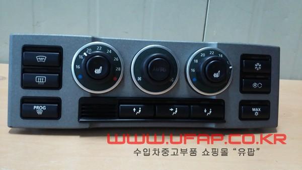수입차 중고부품 - 랜드로버 레인지로버 3세대 에어콘/히터 컨트롤. 호환차종: 2 JFC000373PUV