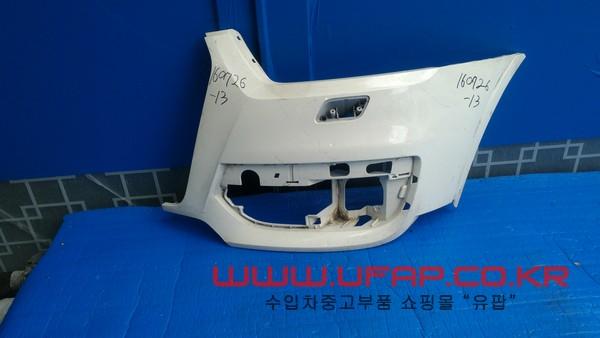 수입차 중고부품 - 아우디 Q3 1세대 앞 범퍼 운전석. 호환차종: 1 8U0807065