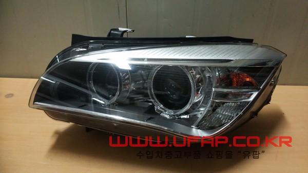 수입차 중고부품 - BMW X1시리즈 E84 LED 헤드라이트 운전석. 호환차종: 1 63117290261