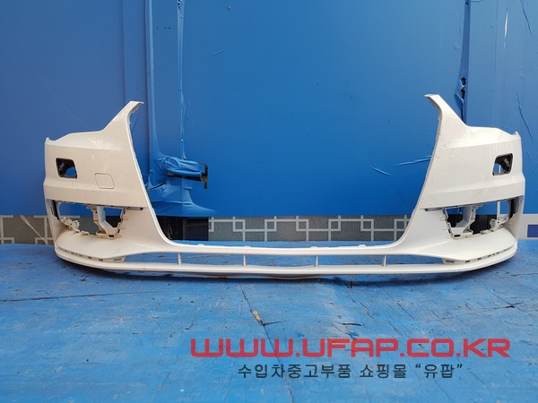수입차 중고부품 - 아우디 A3 3세대 앞 범퍼. 호환차종: 1 8V5807437,8V5807065C