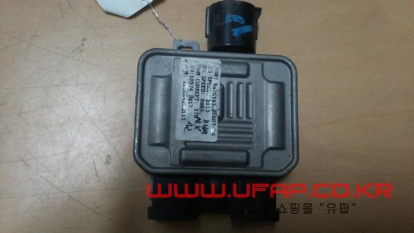 수입차 중고부품 - 링컨 MKS 라디에이터 휀 제어모듈. 호환차종: 2 7T438C609BA,7T4Z8B658B