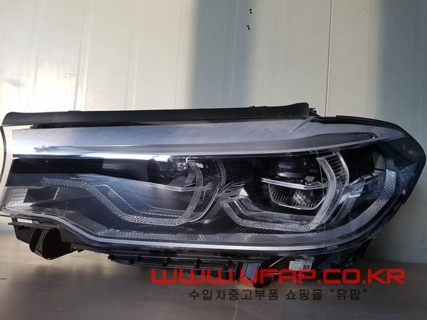 수입차 중고부품 - BMW 5시리즈 G30 헤드라이트 운전석. 호환차종: 2 7439123