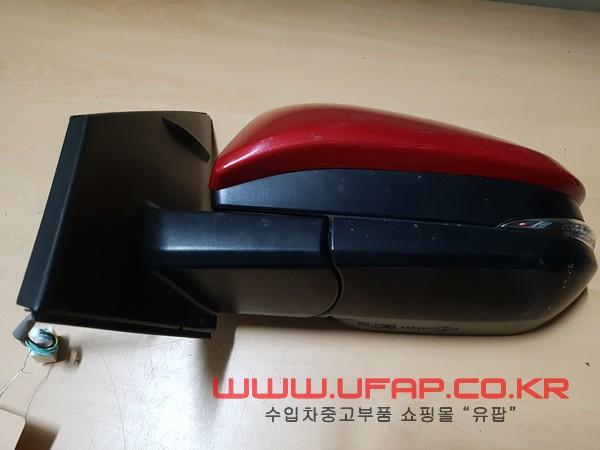 수입차 중고부품 - 도요타 라브4 4세대 사이드 미러 운전석. 호환차종: 1 8794042C50