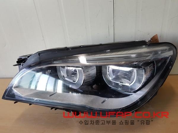 수입차 중고부품 - BMW 7시리즈 F01 LED 헤드라이트 운전석. 호환차종: 2 63117348497