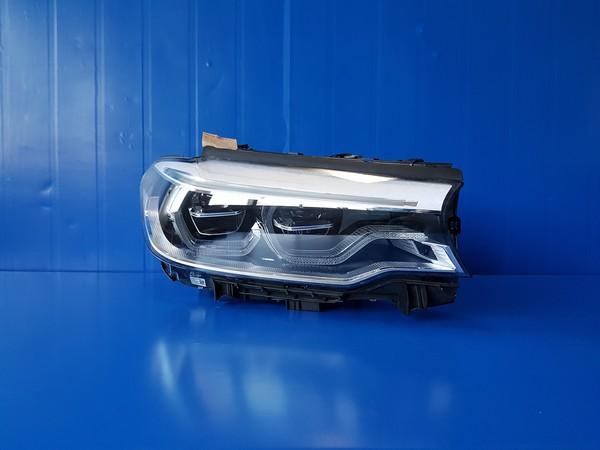 BMW 5시리즈 G30 헤드라이트. 조수석 호환차종: 1 63117214962