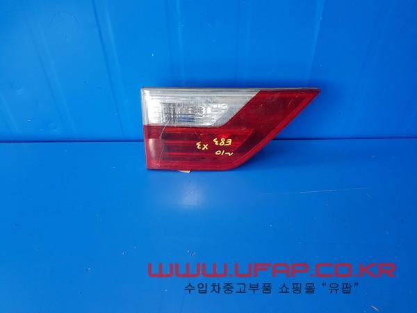 BMW X3시리즈 E83   트렁크 후미등.   운전석  호환차종: 2   7162213,63213420203,63217162213