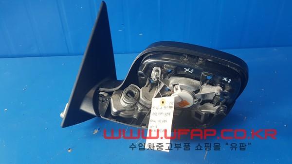 BMW X1시리즈 E84   사이드미러.   운전석  호환차종: 1   51162993765