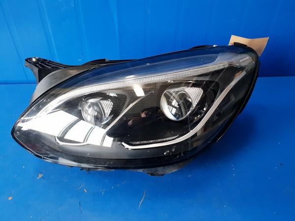 수입차 중고부품 - 벤츠 SLC클래스 R172   LED 헤드라이트.   운전석  호환차종: 1   1729069000