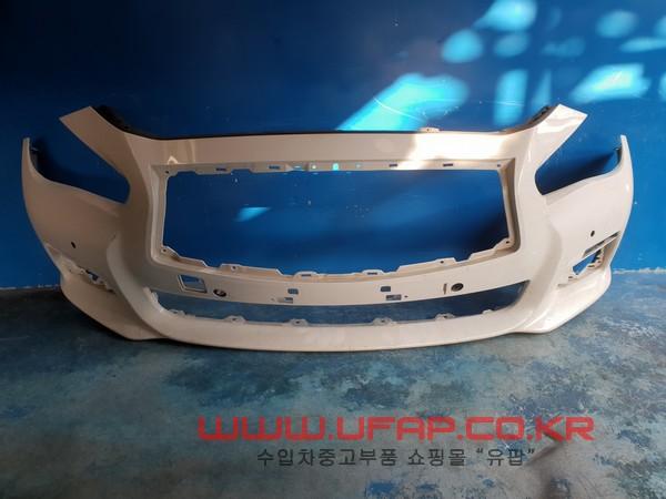 수입차 중고부품 - 인피니티 Q50 1세대   앞 범퍼.  호환차종: 1   620224HB0H